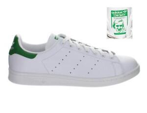 Mens-Adidas-Stan-Smith-White-Fairway-Green-M20324