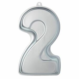 Kitchen-Craft-Zahl-Nummer-2-Kuchenform-32x17x5cm-Backform