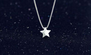 Stunning-Star-Pendant-925-Sterling-Silver-Necklace-Chain-Womens-Jewellery-Gift