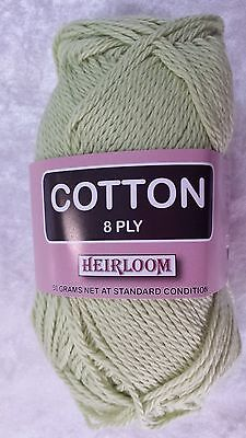 Heirloom Cotton 4 Ply #629 Pale Lilac 50g