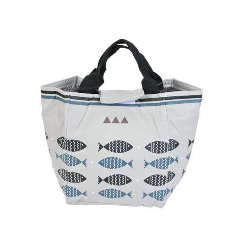 Fisch Isolierte Lunchtasche Kühltasche Lunch Box tasche Picknicktasche Bag