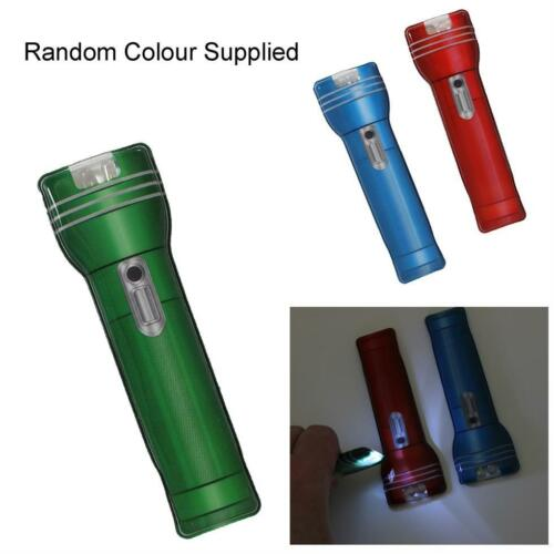 Random Colour Mini Ultra Bright Slimline Pocket Magnetic Torch Flashlight