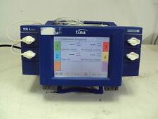 Radiometer Copenhagen Tina TCM4 Transcitaneous Monitor with 2 cables TCM 4 serie