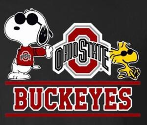 cf6e35d05ea65 Details about (3) Ohio State Buckeyes Cool Snoopy Vinyl Stickers Car Window  Decal 3x2.5