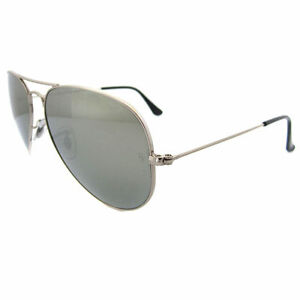 b32f1242ba Ray-Ban Rb3025 003 59 Silver Grey Mirror Polarized Aviator Sunglasses 58mm