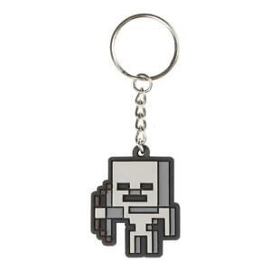 Sonstige GüNstig Einkaufen Minecraft Gummi-schlüsselanhänger Skeleton Sprite 4 Cm Neu & Ovp üBerlegene Materialien Pc- & Videospiele