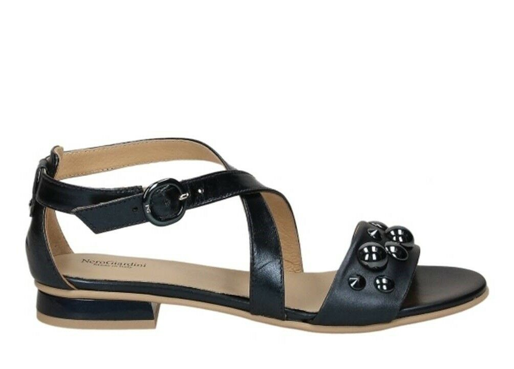 negro Giardini zapatos P805812D azul Oceano Calzature Sandali Bassi zapatos Giardini mujer 36c0e4