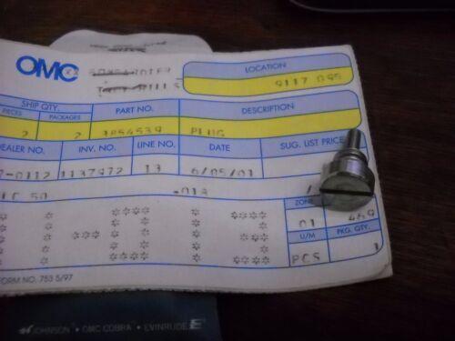 OMC part# 3854539 Plug  OEM
