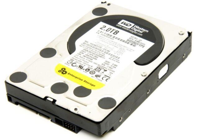 "2TB 3,5"" SATA WD RE4 7200RPM 64MB Cache Desktop Hard Drive WD2003FYPS"