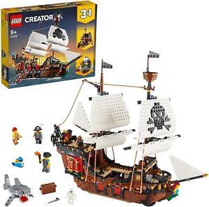 31109-LEGO-CREATOR-3-IN-1-GALEONE-DEI-PIRATI-ANNI-9-PZ-12264-NUOVO-GARANZIA