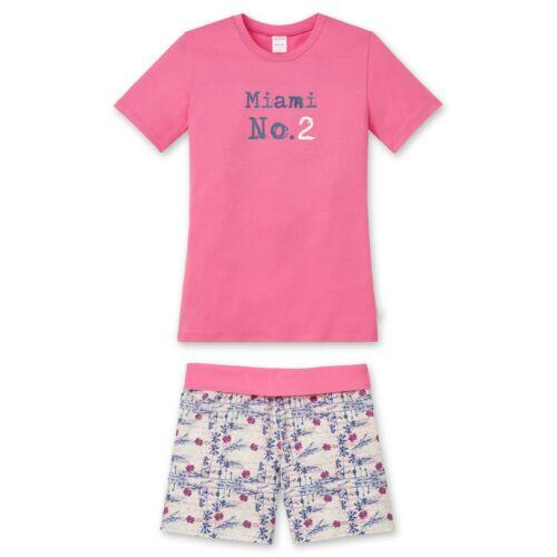 sale SCHIESSER Mädchen Schlafanzug Shorty pink Gr.128 NEU ehemaliger UVP 27,95€