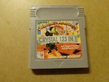 GAME BOY COLOR GAME / CRYSTAL 123 IN 1 - ULTIMATE CHALLENGE (NINTENDO, GAMEBOY)