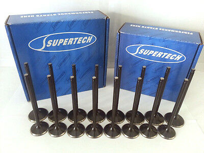 Supertech STD Size Inconel Exhaust Valve Set Honda Acura K20 K20A K20Z K24