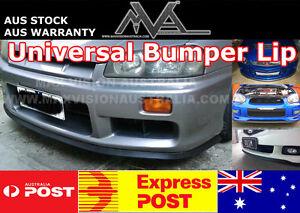 Universal-Front-Bumper-Lip-Spoiler-SKYLINE-GTR-SILVIA-SPEC-S-R-FAIRLADY-Z32-Z33