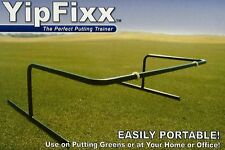 YipFixx Accu-Stroke Golf Putting Trainer ~ Portable, Affordable, & Effectve Tool