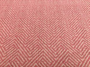 New Soft Quality Printed Velvet Pink Leaf Pattern Furnishing Upholstery Fabric
