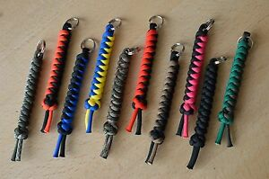 Paracord 550 Lanyard Keyring for Multi Tool Keys etc Choose Your Colour - Birmingham, West Midlands, United Kingdom - Paracord 550 Lanyard Keyring for Multi Tool Keys etc Choose Your Colour - Birmingham, West Midlands, United Kingdom