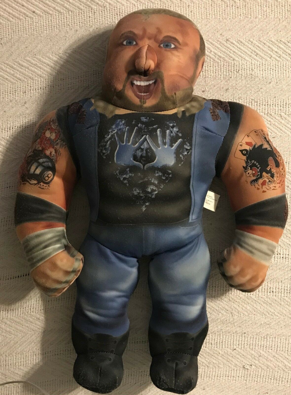 1998 WCW  DIAMOND DALLAS PAGE  WRESTLING BUDDY WITH TALKING & SOUNDS