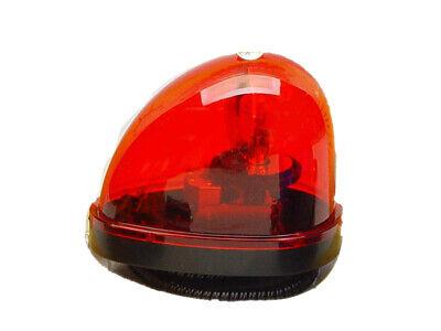 Wolo Model  3210-R Emergency 1 Magnetic Mount Teardrop Style Rotating Warning L