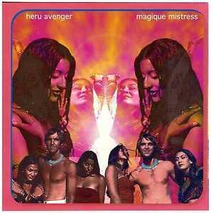 HERU AVENGER Magique Mistress CD Space Rock/Prog/Krautrock – Private Press NEW