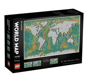 Lego 31203 ART World Map (11695 pcs) Sealed In Lego Shipper In hand Ships Fast