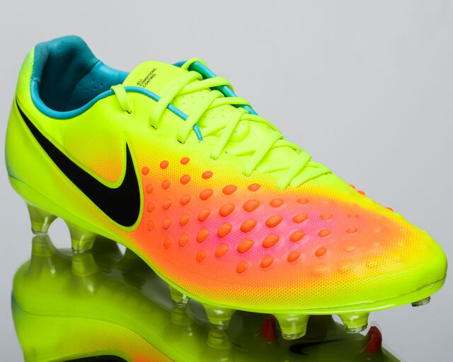 the latest f740f 3b10d Nike Magista Opus II FG 2 men soccer cleats football NEW volt black  843813-708