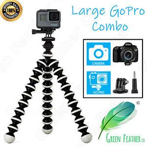 LARGE-Flexible-Gorilla-Tripod-GoPro-Combo-Edition-Hero-6-5-4-Camera