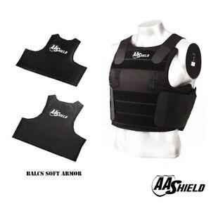 Armor Corr Concealable Stabiiia Vest New Kevlar Bullet >> Bullet Proof Vest Aa Shield Balcs Tactical Ballistic Soft
