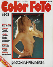 Color Foto 10/78 1978 Golden Steky Mycro III A Septon Pen Nikon FE FM Petri MF1