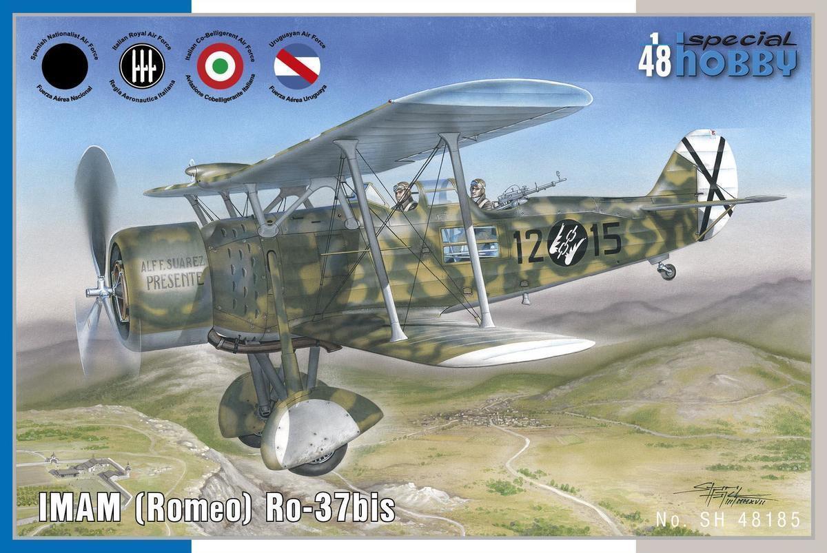 Special Hobby 1 48 Imam (Romeo ) Ro-37bis