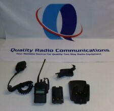 Vertex Standard Vx 824 G7 5 450 512 Mhz Uhf Two Way Radio W Mic Amp Charger