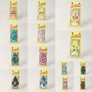 Little Trees Air Freshener Single Pack Car Home Office Multiple Discount
