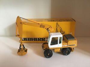 100% De Qualité Liebherr A 912 Mobile Excavateurs De Conrad 2830 In 1:50 Neuf Dans Sa Boîte