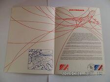TIMBRE PLANCHE PREMIER JOUR AIR FRANCE 1933-1983   A 1 83 124         G26