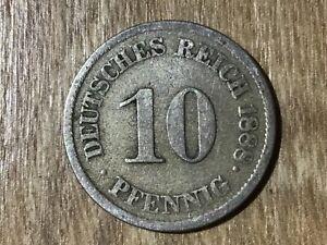 10 penique Imperio 1873 - 1889 j.4