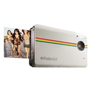 Camara-Polaroid-Instantanea-Z2300-Blanca-con-recambio-de-papel