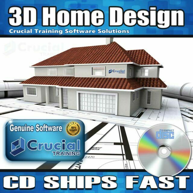 3d Home Architect Interior And Lanscape Design Software Fast Digital Download For Sale Online Ebay