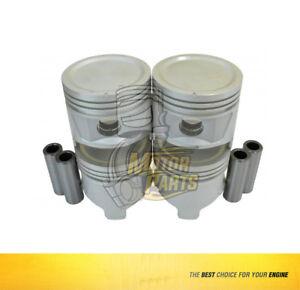 SIZE STD Piston Rings Fits GM LUV 1.8L