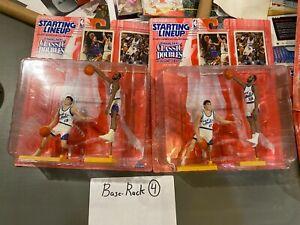 Lot of 2 1997 Starting Lineup NBA Classic Doubles John Stockton Karl Malone Jazz