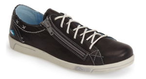 "Cloud Aika /""Leather/"" Black Sneakers Women/'s sizes 36-42//6-11NEW!!!"