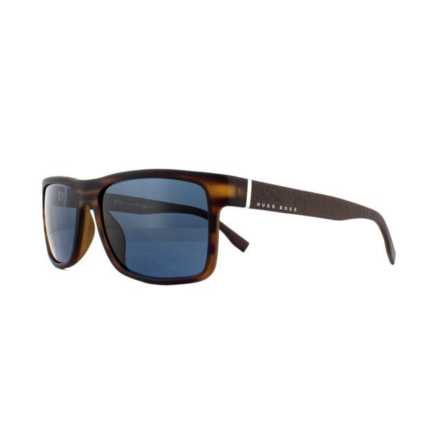 962f8cf0f4e Hugo Boss Sunglasses 0919 s 2q7 KU Brown Horn Blue for sale online ...