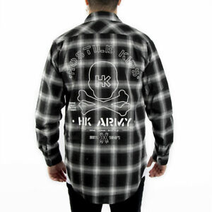HK-Army-Collide-Flannel-Long-Sleeve-Black-Large-Paintball