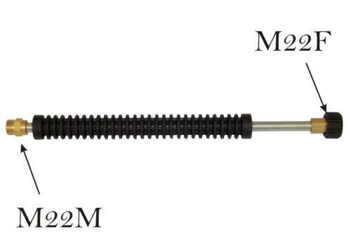 M22m a M22F KARCHER HDS compatibile LANCIA estensione lunghezza 450 mm
