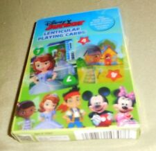 Disney Junior Lenticular Playing Cards-Play a Variety of Card Games