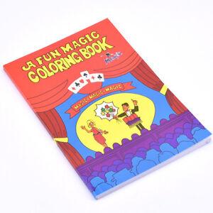 A Fun Magic Coloring Book Medium 20 5cm 13 5cm 0 7cm Magic Tricks