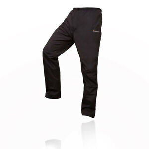 Montane Mens Terra Stretch Pants Trousers Bottoms Black Sports Outdoors