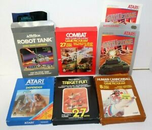 Atari-Sears-Tele-game-Boxes-Only-Lot