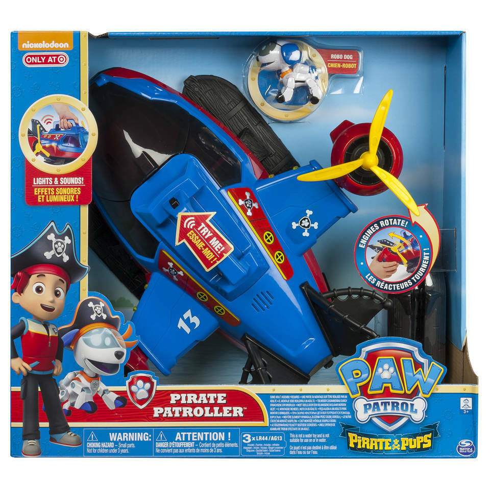 Paw Patrol Pirate Patroller - Brand New