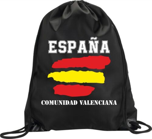 Backpack Bag Valencian Community Spain Gym Handbag Flag Sport