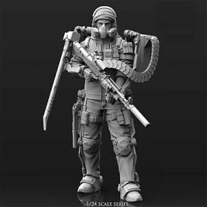1-24-Mechanical-warrior-Resin-Kits-Unpainted-Model-GK-Unassembled-in-stock-New